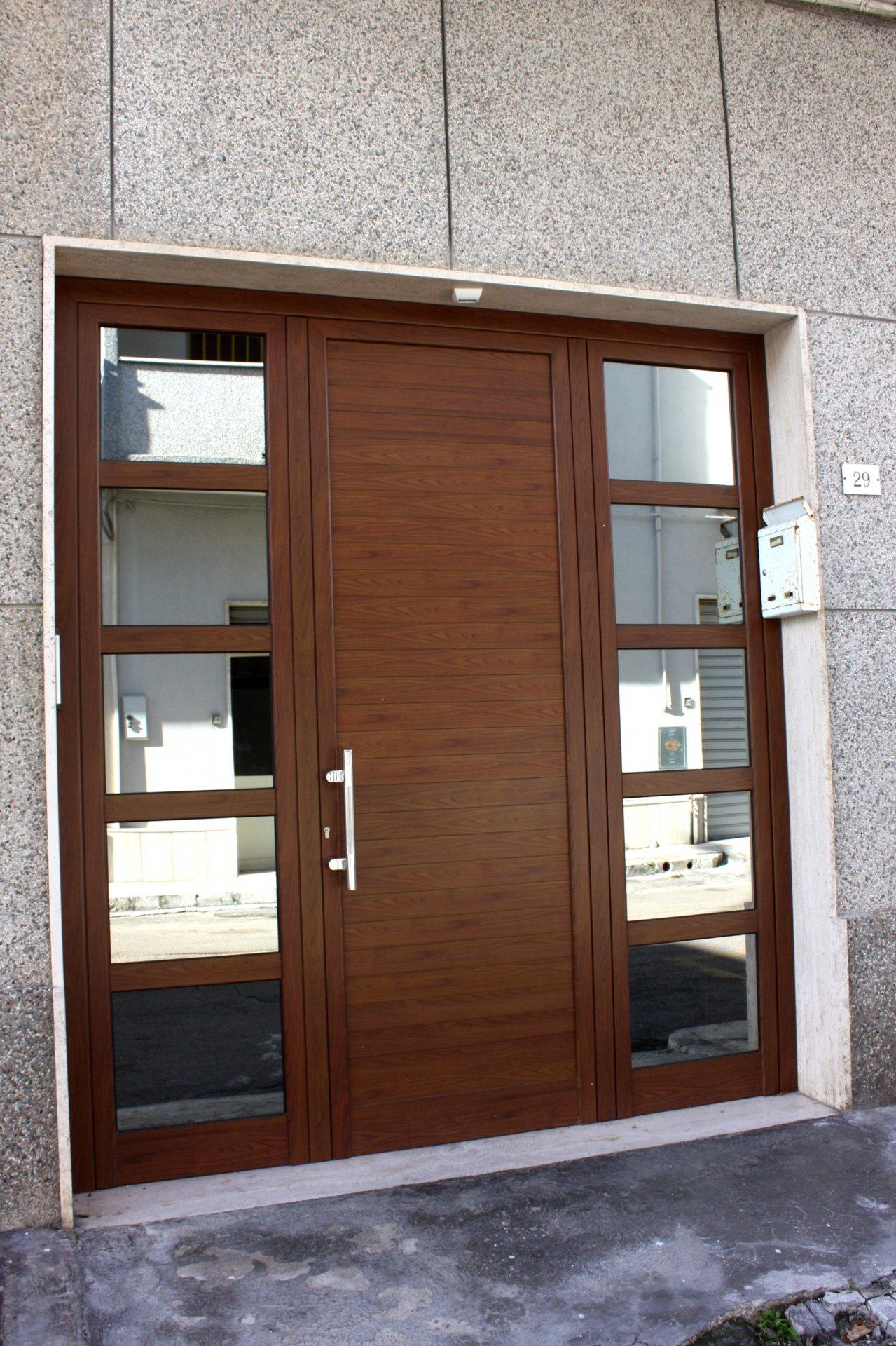 Preferenza Portone d'ingresso in alluminio | AB Serramenti ZA03