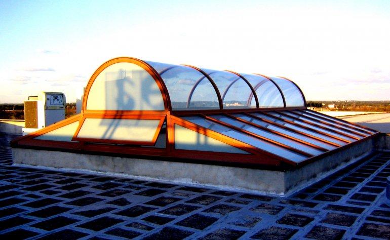 Lucernario a cupola