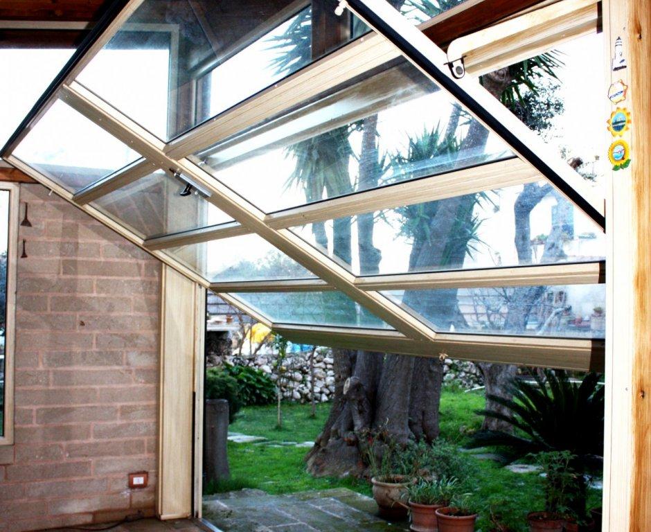 Basculante vetrato