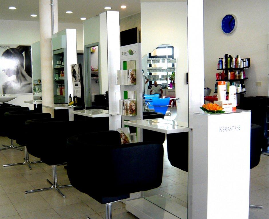 Postazioni bi-facciali salone hair stylist